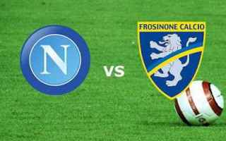 Serie A: napoli frosinone calcio gol highlights