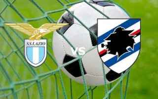 Serie A: calcio lazio sampdoria gol video