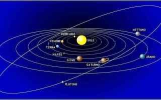 Astronomia: sistema solare  sole  terra  venere