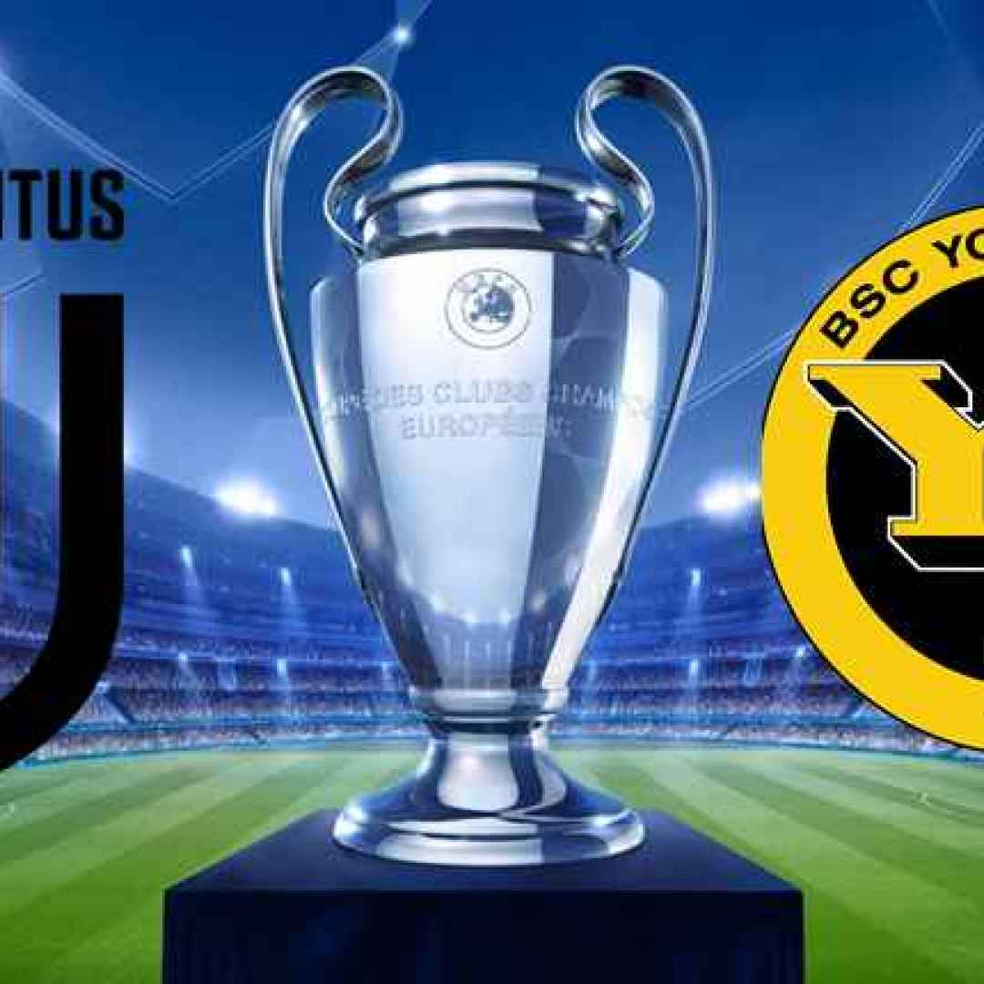 juventus  young boys  champions league