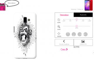 Siti Web: cover personalizzate smartphone cellular