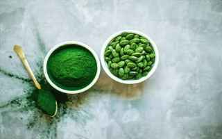 Alimentazione: spirulina  superfoods  integratori natur