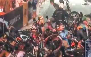 Ciclismo: ciclismo sport incidente video new york
