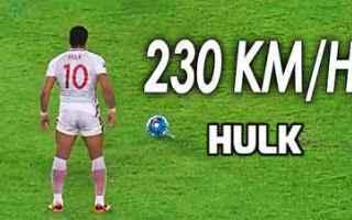 Calcio Estero: calcio hulk video gol potenza