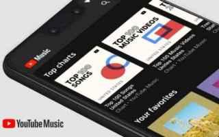 App: youtube music  classifiche