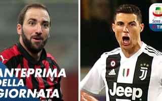 Serie A: calcio serie a ronaldo higuain video