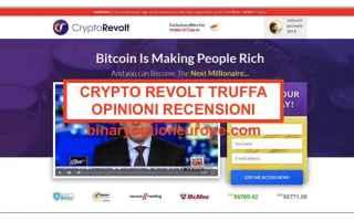 Economia: crypto revolt truffa  criptovalute  btc