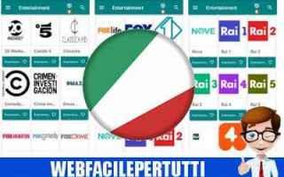 File Sharing: tv italia apk  tv italia 27 apk  app iptv
