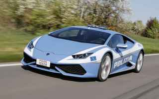 Video online: auto lamborgini polizia video