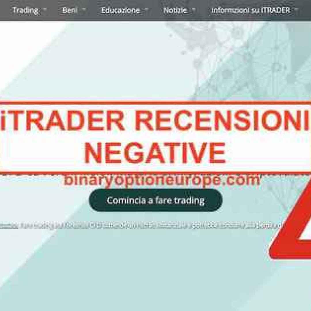 itrader truffa  trading  scam  broker