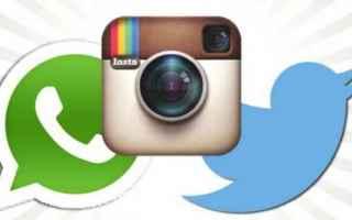 App: whatsapp  instagram  twitter