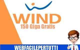wind  150 giga  gratis  internet