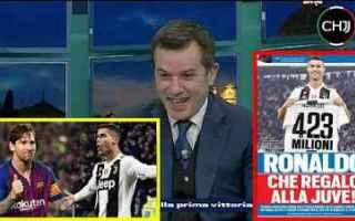 Calciomercato: messi ronaldo juve juventus calcio