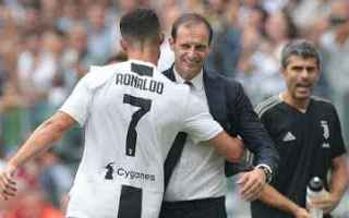Serie A: ronaldo allegri juventus calcio video