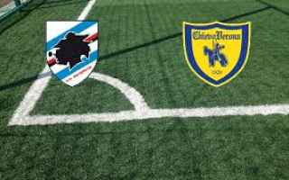 Serie A: sampdoria chievo video gol calcio