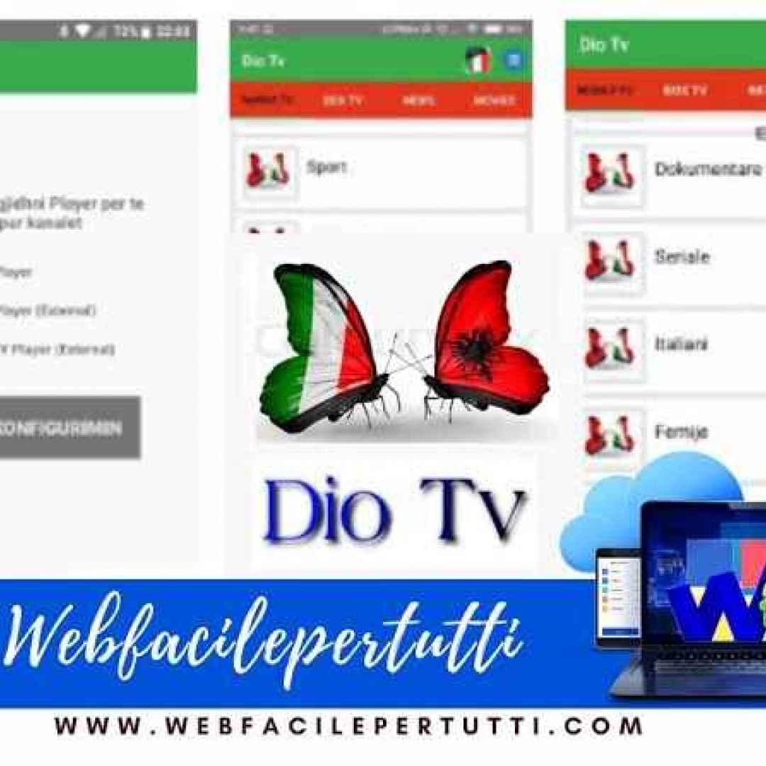 diotv  diotv app  dio tv iptv  iptv  app