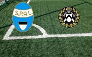 Serie A: spal udinese video calcio highlight