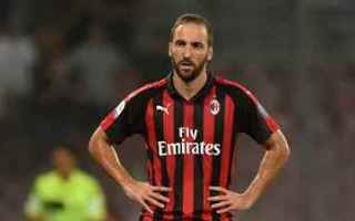 Serie A: milan higuain video calcio sport
