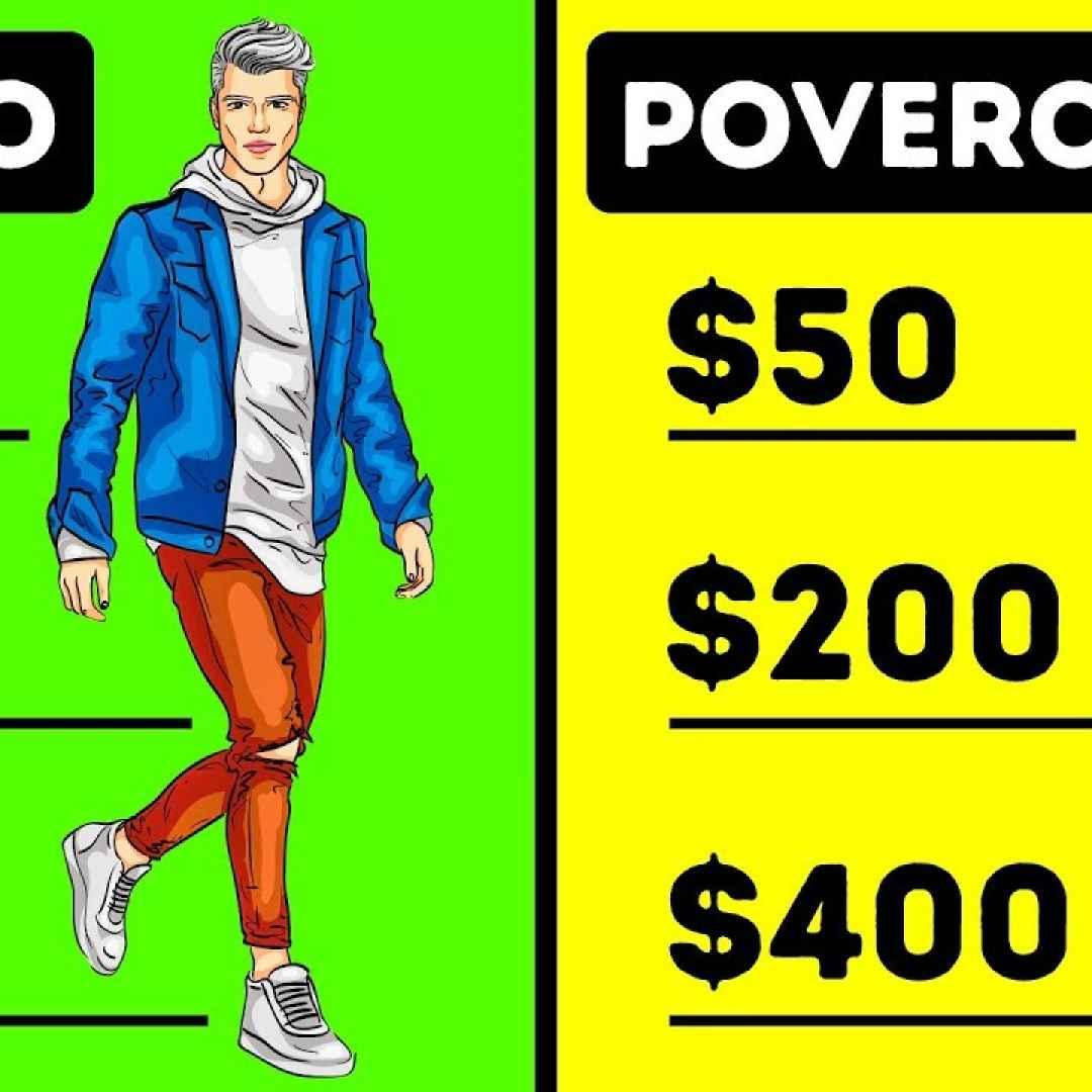 Le Persone Povere.7 Principali Differenze Tra Persone Ricche E Persone Povere