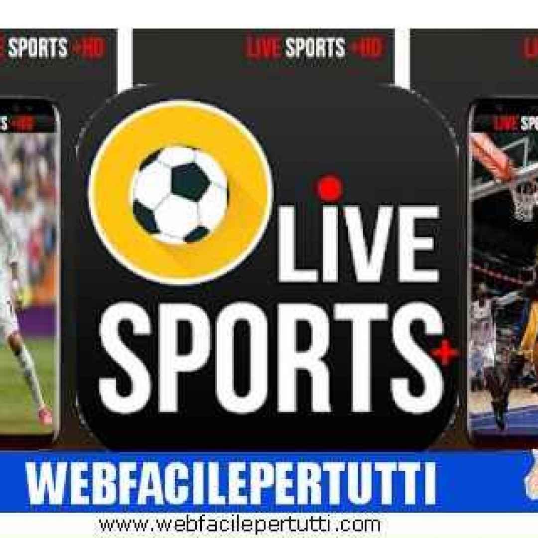 Live Sports Plus HD) Applicazione per guardare tutte le