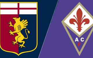 Serie A: genoa fiorentina video highlights calcio