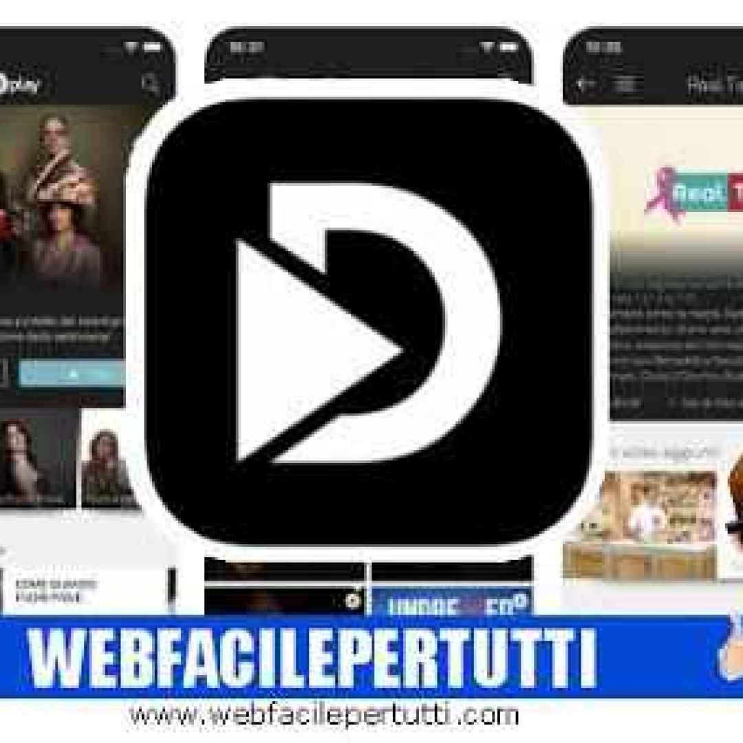 dplay  app  streaming  video  serie tv