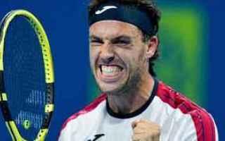 Tennis: tennis grand slam cecchinato doha