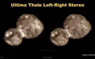Astronomia: nasa  new horizons  ultima thule