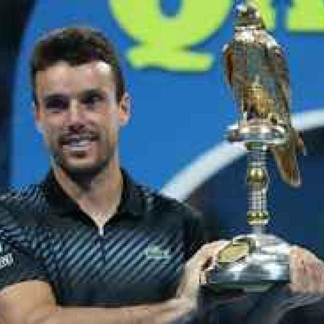 tennis grand slam bautista agut doha