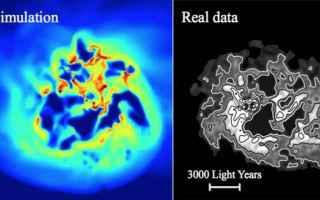 Astronomia: materia oscura  galassie nane  cosmologi