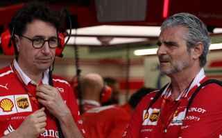 Formula 1: arrivabene  binotto  ferrari  f1