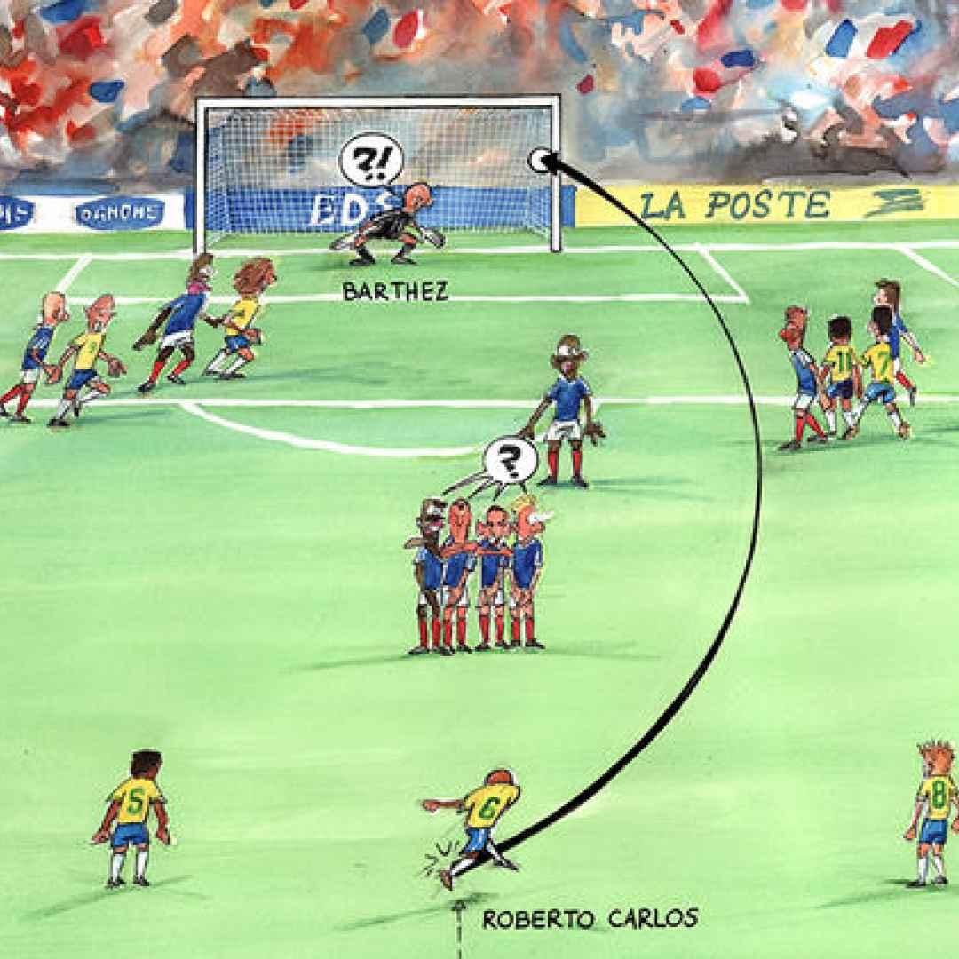 brasile  francia  video  gol  calcio