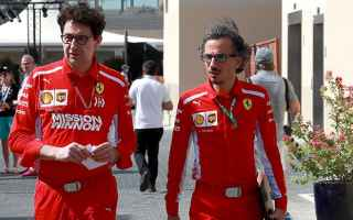 Formula 1: ferrari  laurent mekies  f1  binotto