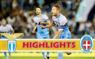 Coppa Italia: lazio novara video gol highlights