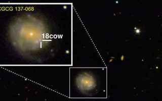 Astronomia: supernova  stella di neutroni  buco nero