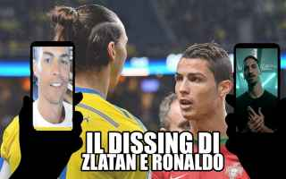 Video divertenti: ibrahimovic ronaldo video dissing ridere