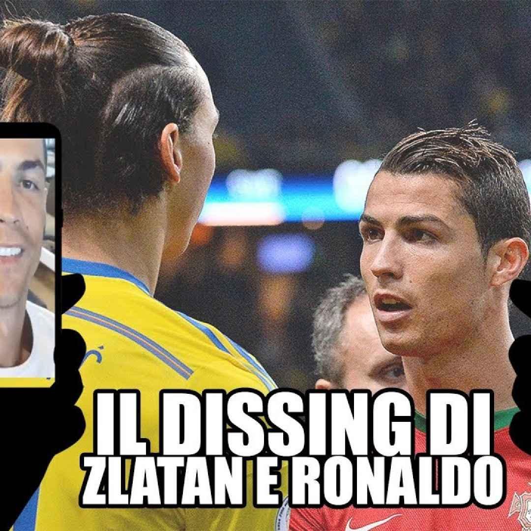 ibrahimovic ronaldo video dissing ridere