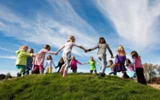 Salute: obesità  sedentarietà  bambini