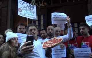 Napoli: flash mob video napoli sorbillo