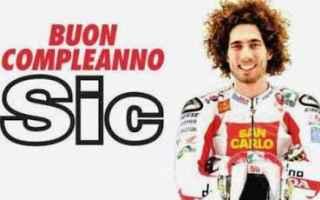 MotoGP: sic  simoncelli  video  compleanno  moto