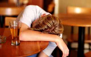 Salute: giovani  alcol  droga