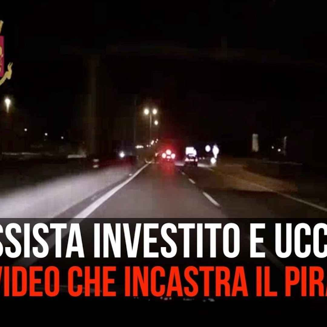 incidente video morto milano auto
