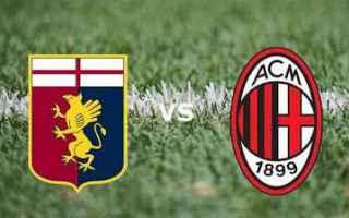 Serie A: genoa milan video gol calcio