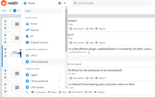 Social Network: reddit social network news
