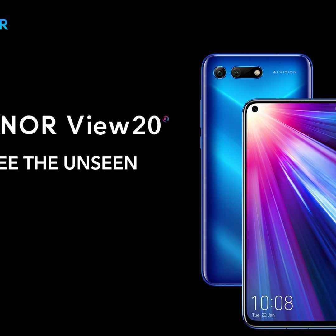 honor view 20  honor  smartphone  huawei