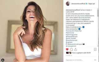 Bellezza: Nomasvello Campagna 2019 la nuova testimonial sarà la showgirl Alessia Ventura