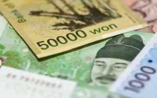 korea  siti forex  triplo massimo minimo