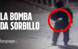 Napoli: napoli video bomba pizzeria sorbillo