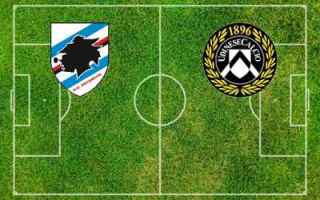 Serie A: sampdoria udinese video gol calcio