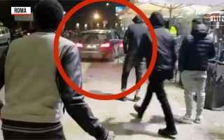 Roma: roma video uomo ubriaco discoteca